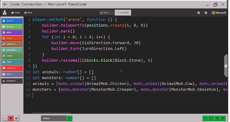 MakeCode Javascript
